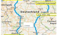Sängertournee 2017 – Deutschland