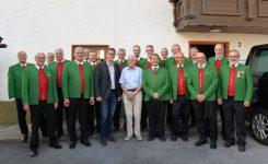 Otto Tscharf feiert seinen 90. Geburtstag