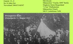 140 Jahre MGV Telfs-Festkonzert
