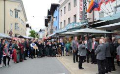 Weitere Bilder zum Platzlsingen anlässlich der 140 Jahrfeier des MGV Telfs