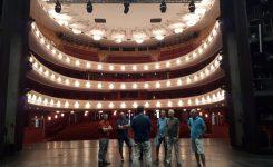 Besuch im Tiroler Landestheater